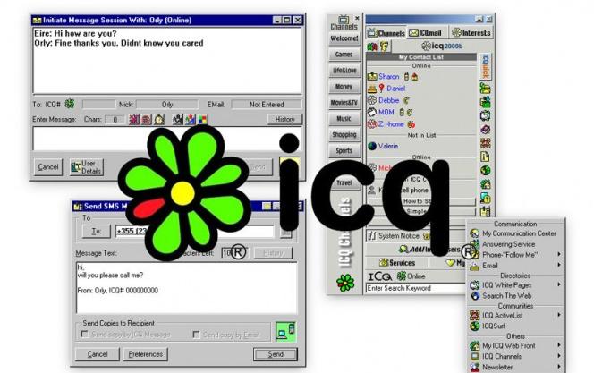 Функция поиска в ICQ, как скачать аську на телефон без регистрации