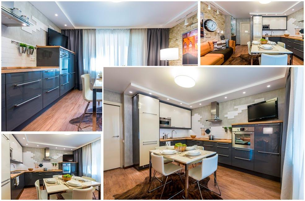 Кутова кухня - ідеальне рішення для маленьких і прямокутних приміщень