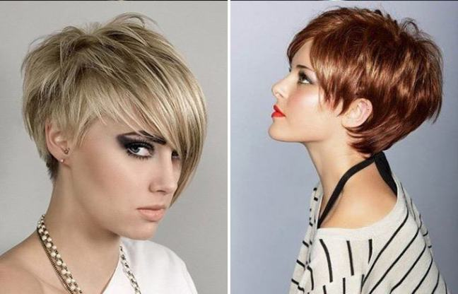 Стрижки для короткого волосся