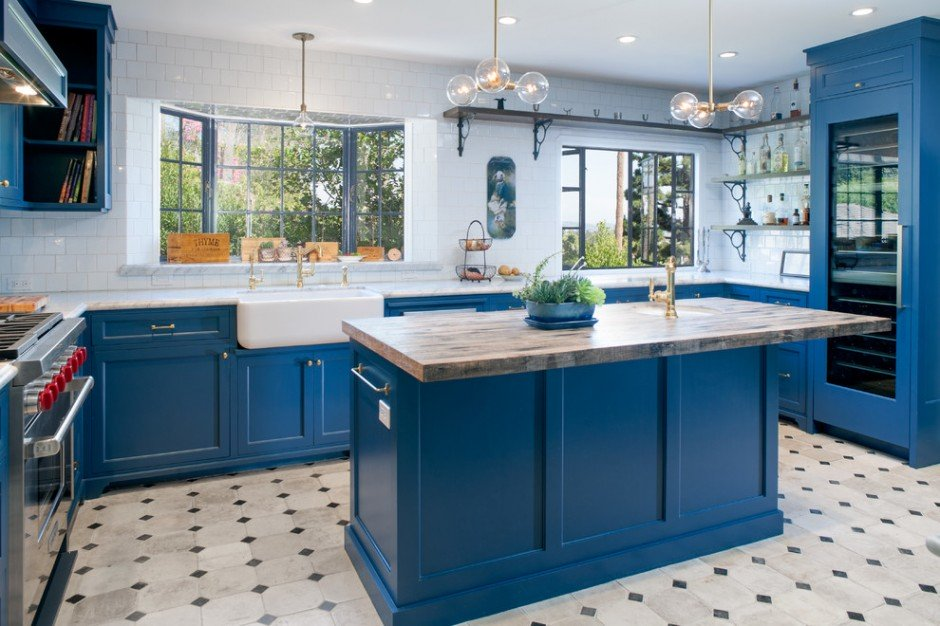 Синя кухня